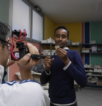 Sono Abdullahi, ho 22 anni e vengo dalla Somalia.