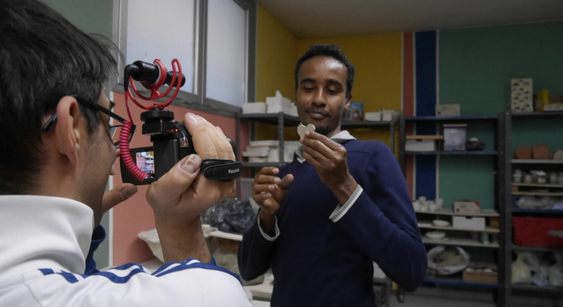Lo sguardo di Abdullahi ci porta al centro ArtemiSta