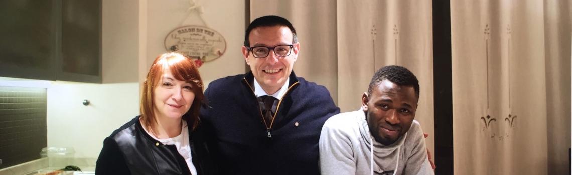 Silvia, Pierpaolo, Ibrahim: scambio e dialogo, anche nella diversità