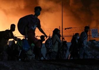 Nel campo di Moria nuova emergenza umanitaria.