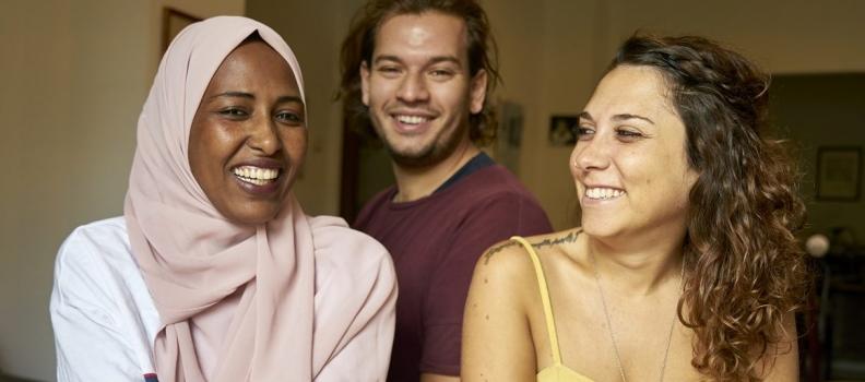 Giulia, Amira e Tommaso: la loro vita in quarantena.