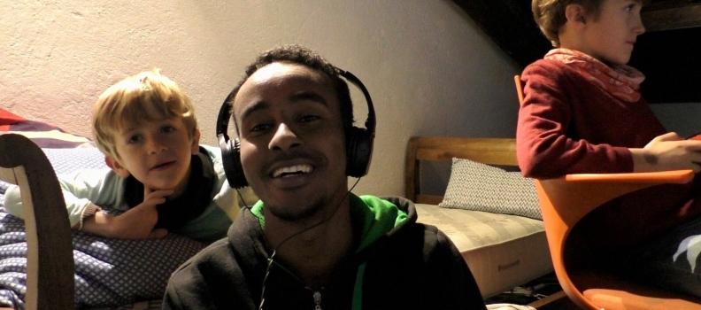 """Through my eyes"":  la storia di Abdullahi attraverso gli occhi di Abdullahi"