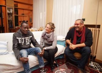 Dal Niger all'Italia: per Abù un nuovo inizio