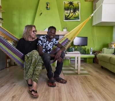 Il viaggio del giovane Ali dal Mali a casa di Ester