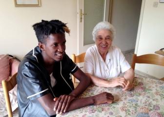Alpha e Concetta intervistati da UNHCR ITALIA