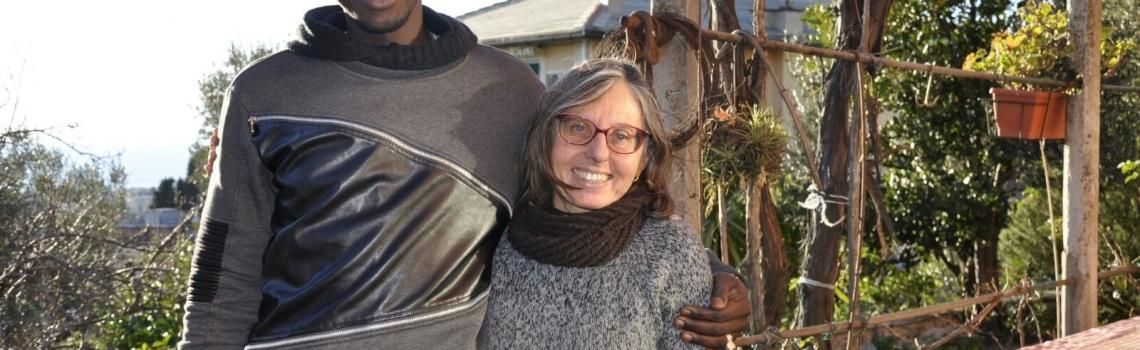 Stefania e Saikou: ancora a Genova una nuova convivenza