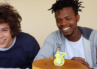 Una nuova famiglia per Mamadou.