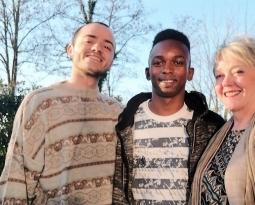 Silvia, Lorenzo e Mama: nuova convivenza a Mestre