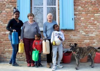 Una nuova, numerosa, colorata famiglia a Torino